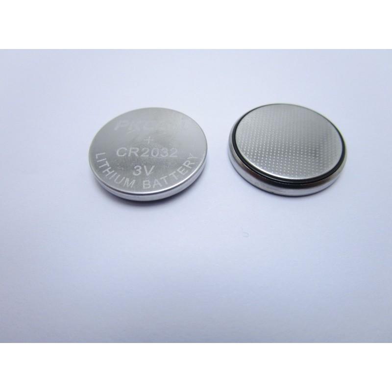 2 pezzi Batteria pila litio cr2032 PKCELL per orologi telecomandi bilancia rtc