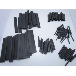 Kit 127 pezzi guaina termorestringente nera guaina termoretraibile saldature pcb