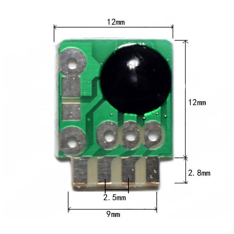 Circuito chip sonoro sirena polizia DC 3-5v 180-220k per fai da te Arduino
