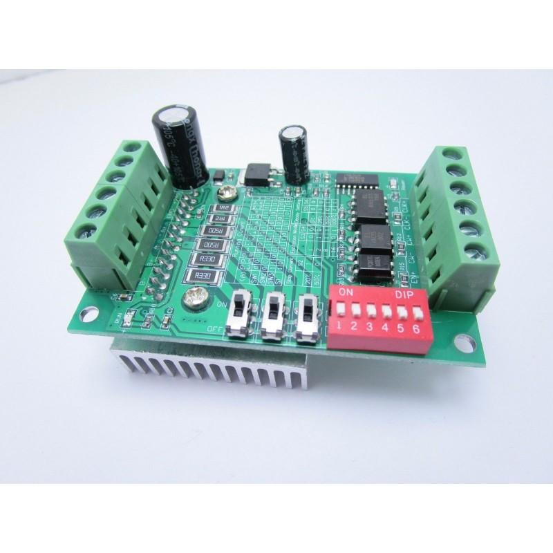 Driver 1 asse scheda TB6560 per motori passo passo stepper cnc arduino 12-24V 3A
