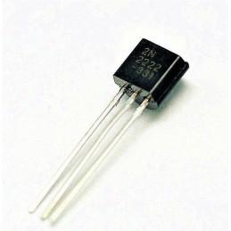 10 pezzi Transistor TO-92 NPN 2N2222 PN 2222 2N2222A per elettronica fai da te