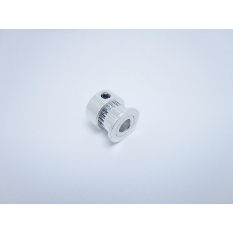 Puleggia dentata foro Ø 6,35mm 20 denti per cinghia 6mm gt-2 stampante 3D cnc