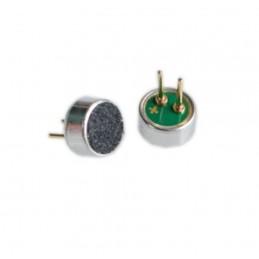 4 Mini microfoni a condensatore 3vdc 0,5mA electret condenser pickup 52DB