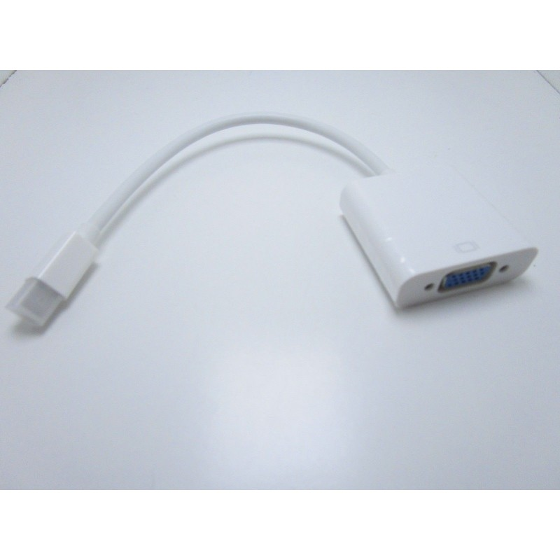 Cavo adattatore thunderbolt mini displayport a VGA apple MacBook Pro Air iMAC