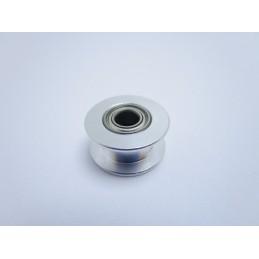 Puleggia non dentata tendicinghia foro 5mm per cinghia gt-2 6mm stampante 3D