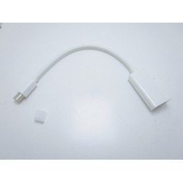 Cavo adattatore thunderbolt mini displayPort DP a HDMI per Apple Imac Macbook