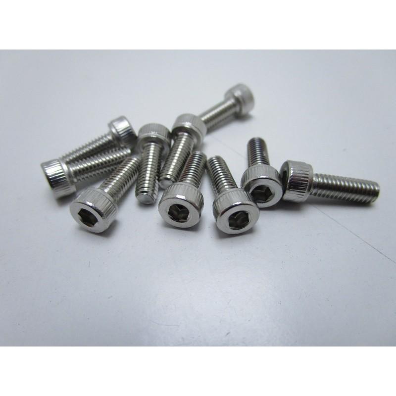 10pz Viti in acciaio inox M4x20mm testa esagonale per stampante 3D prusa reprap