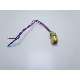 Mini laser puntatore rosso 650nm 5mW da 3v a 5v 6.5X18mm per arduino cnc