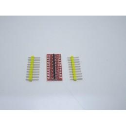 Convertitore di livello logico I2C IIC bidirezionale 8ch da 3.3v a 5v arduino