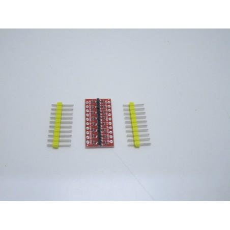 Convertitore di livello logico level shifter I2C IIC bidirezionale 8ch arduino