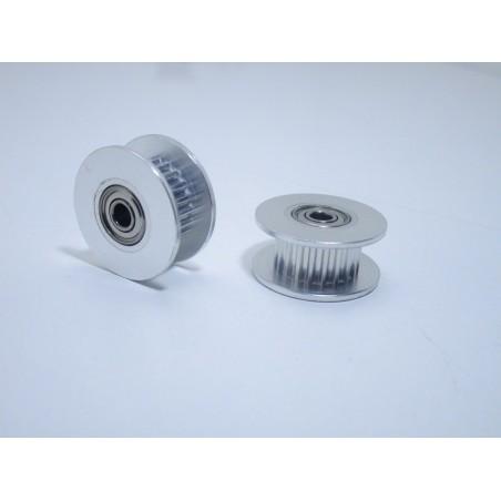 Puleggia dentata foro 3mm per cinghia gt2 6mm stampante 3d makerbot reprap