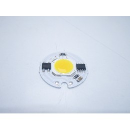 Chip led cob round 5w watt 185 220v bianco caldo 3000 kelvin 200mah 27mm*27mm