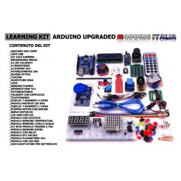 Learning kit arduino upgraded moddingitalia con arduino uno 30 progetti e moduli