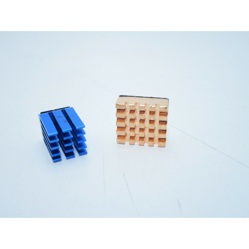 Kit dissipatori di calore in alluminio rame per Raspberry Pi 3 Raspberry Pi 2 B+
