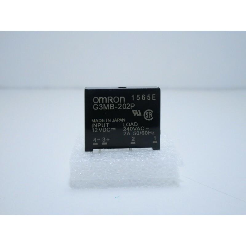 Relè relay ssr a stato solido Omron G3MB-202P 12V 240V 2A optoisolatore arduino