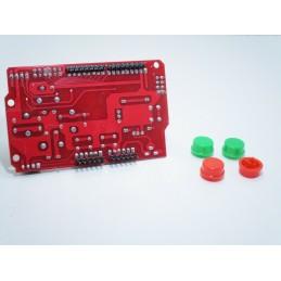 Joystick shield v1.0 scheda di espansione + cappucci colorati per arduino