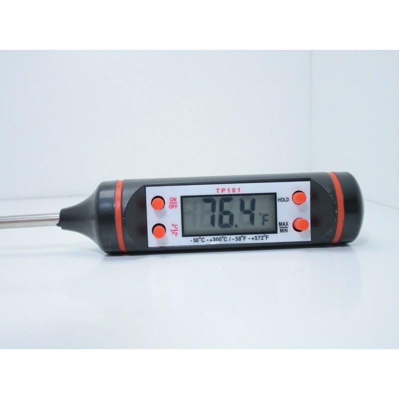 Termometro digitale TP101 da cucina per alimenti bevande -50°C a 300°