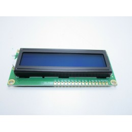 Display blu 1602 16X2 1602A HD44780 lcd retroilluminato per arduino