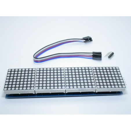 Display a matrice led DOT MAX7219 4 IN 1 8x8 5 pin per arduino e Raspberry Pi