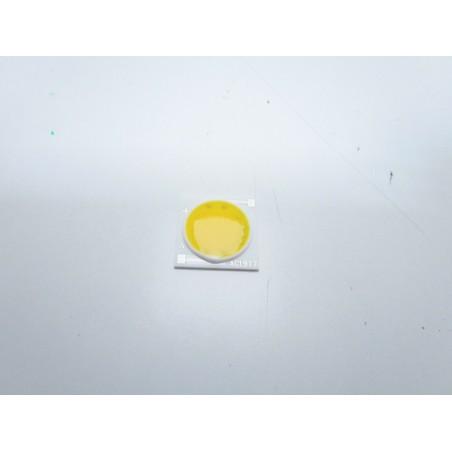 Led cob 20w ac 220V bianco caldo in ceramica 2200 lumen 3500k 19x19mm per fari