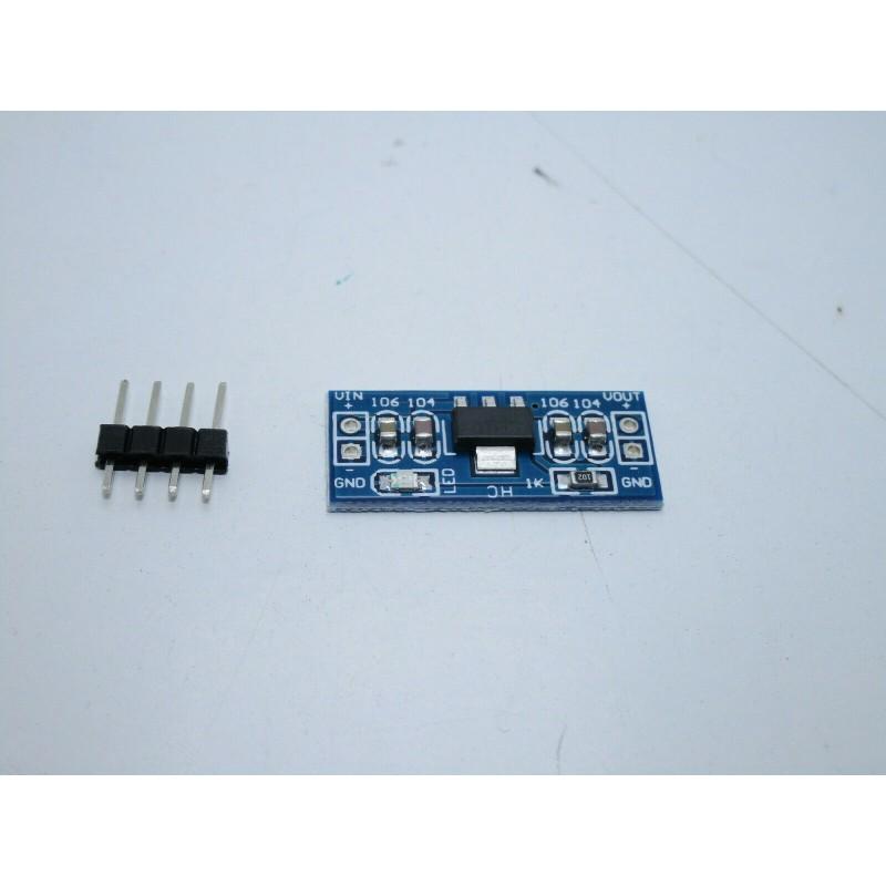 Regolatore di tensione AMS1117 step down da 6-12V a 5v per arduino Raspberry Pi