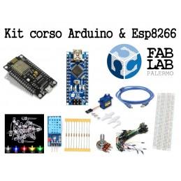 Kit Arduino ed Esp8266 per corso FabLab Palermo