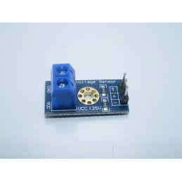 Sensore di rilevamento voltaggio tensione da 0 a 25v per robotica arduino