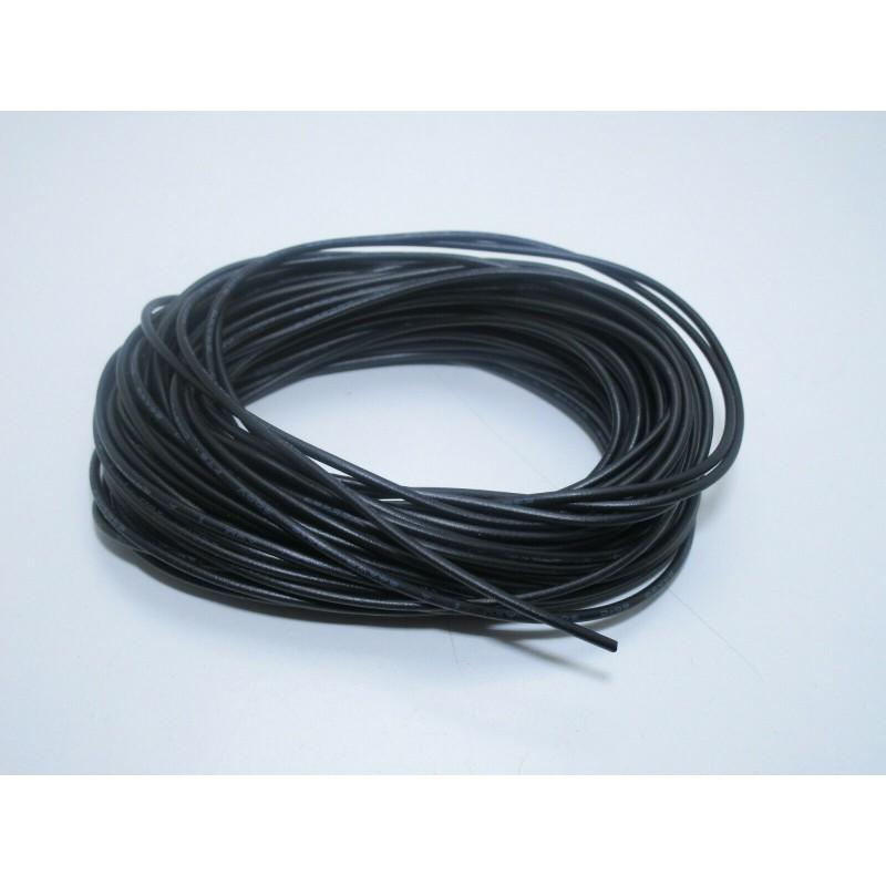 Filo cavo unipolare FT2 flessibile nero 10 metri 24awg per elettronica fai da te