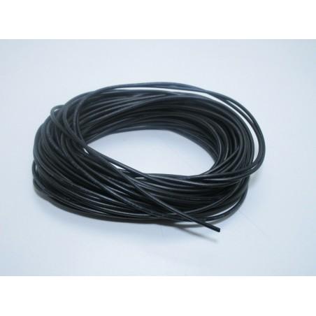 Filo cavo unipolare FT2 flessibile nero 10 metri 24awg per elettronica  ID-1984