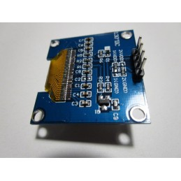 "Modulo display oled 1,3"" 128X64 bianco per interfaccia seriale I2C 4 pin arduino"