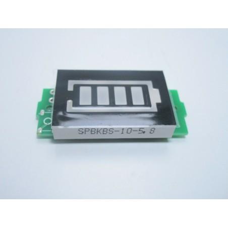 Tester indicatore di livello carica batteria lipo 4S celle 14,8V 16,8V