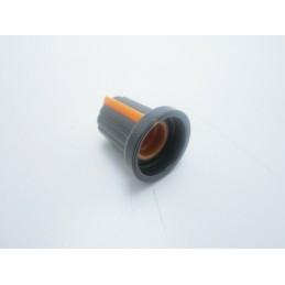 Manopola Arancione con incastro a pressione per potenziometri albero asse 6mm