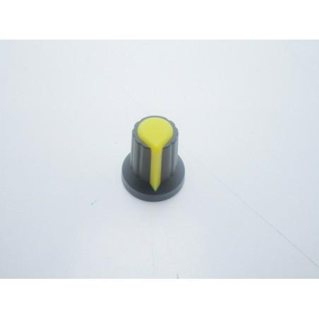 Manopola GIALLA 6mm per potenziometro pressione potenziometri