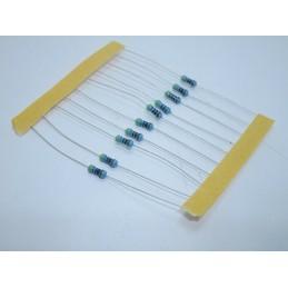 10pz Resistenze resistenza resistore 470r 470 ohm 1/4w 0,25w 1% film di carbonio