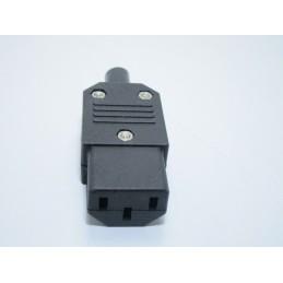 Spina connettore di alimentazione maschio volante IEC AC-013A 10A 250V per UPS