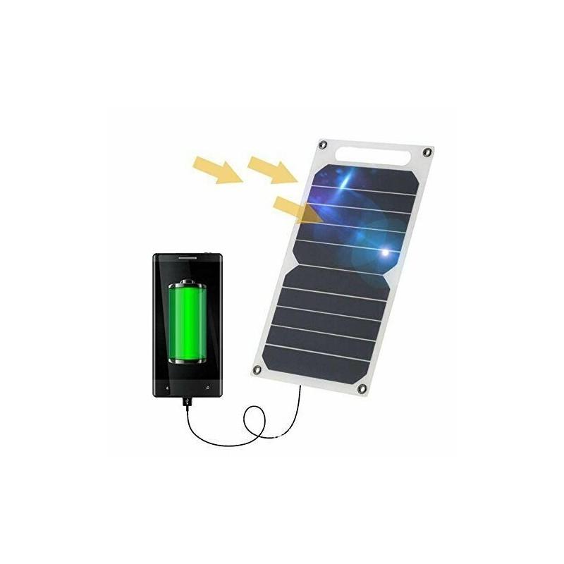 Pannello solare 5v 10w con porta usb waterproof IP64 caricabatterie solare 26x14