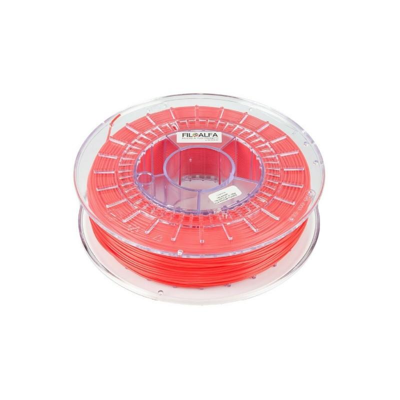 PLA 1,75mm 700g rosso fuoco 170-210°c filamento bobina per stampante 3D