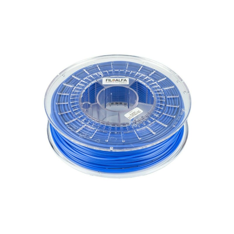 Filamento PLA 1,75mm 700g Blu elettrico 170-210°c bobina per stampante 3D
