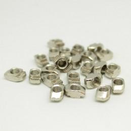 Dadi a t t-nuts m5 per profilati profili in alluminio con cave da 6mm 10 pezzi