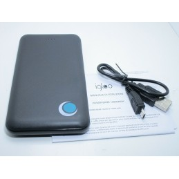 Power bank 10000 mah carica batteria micro usb universale 5V 2A