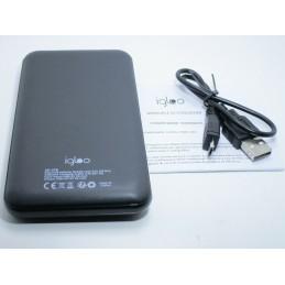 Power bank 10000 mah carica batteria micro usb universale 5V 2A