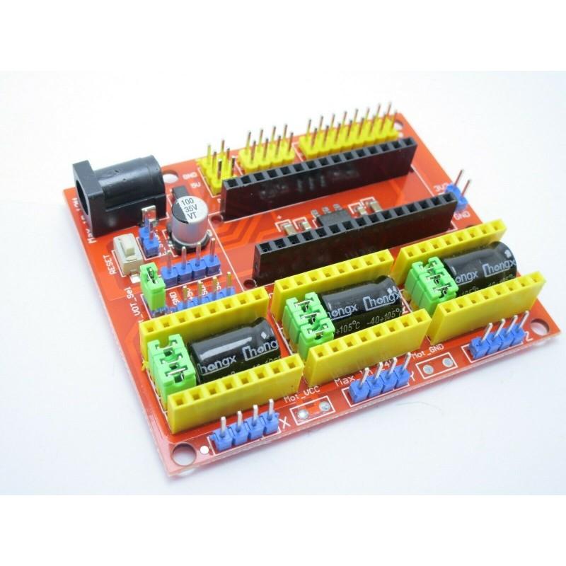 Cnc shield v4 per driver A4988 DRV8825 arduino nano
