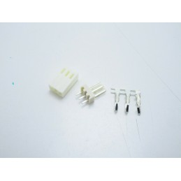 10pz Kit connettori terminali KF2510 passo 2,54mm 3 pin per crimpare dupont cavi