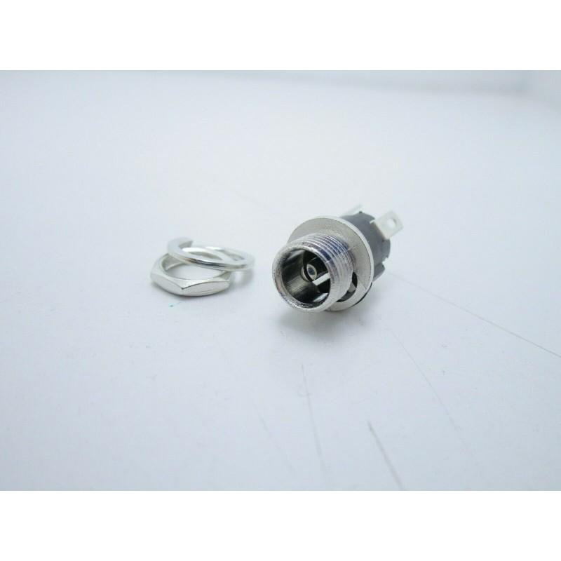 Connettore da pannello femmina 5,5mmx2,1mm per alimentazione 2 pezzi