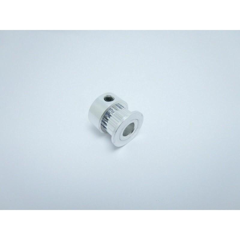 Puleggia in alluminio 20 th foro 6mm per cinghia dentata gt2 gt-2