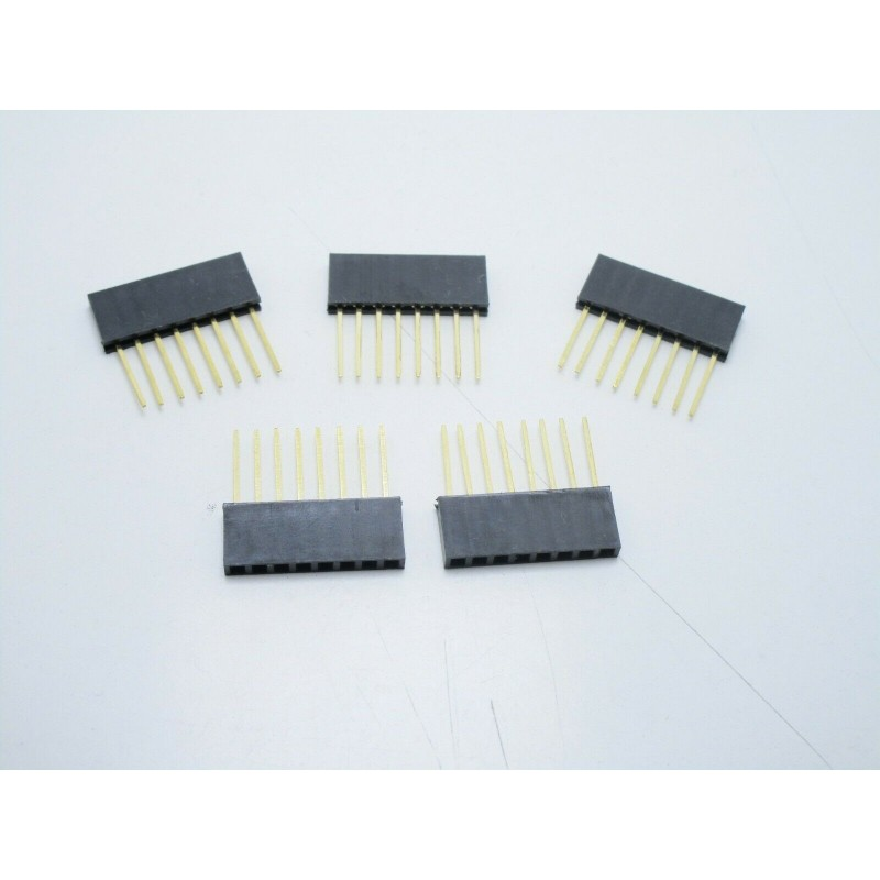 5 pz Strip line connettori 8 pin poli femmina arduino
