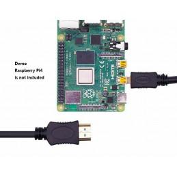 Cavo HDMI a micro hdmi 1.4 1,8mt 30 AWG placcato oro per Raspberry Pi 4B 4 hd tv