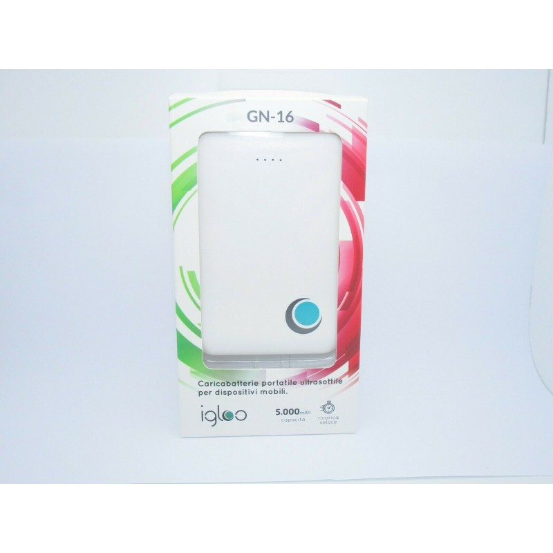 Power bank 5000 mah 5v 2A caricabatterie portatile per MP3 fotocamera smartphone