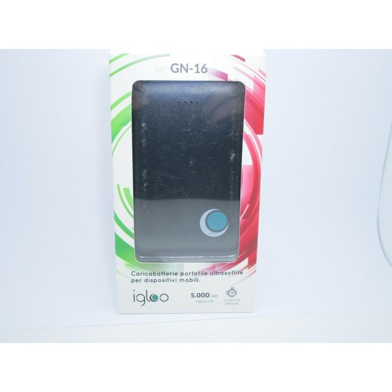 Powerbank 5000 mah 5v 2A caricabatterie portatile per smartphone MP3 fotocamera