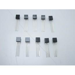 10 pezzi Transistor npn BC547 BC547 C50V 100mA to-92